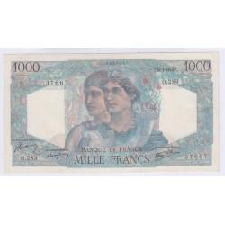 BILLET FRANCE 1000 FRANCS MINERVE ET HERCULE 16-05-1946 SUP+ L'ART DES GENTS AVIGNON
