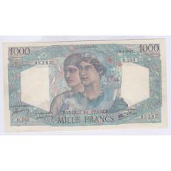BILLET FRANCE 1000 FRANCS MINERVE ET HERCULE 16-05-1946 SUP L'ART DES GENTS AVIGNON