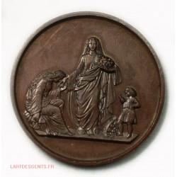 Médaille Quête pour les pauvres 2ème arrond. Paris 1871-72, lartdesgents.fr