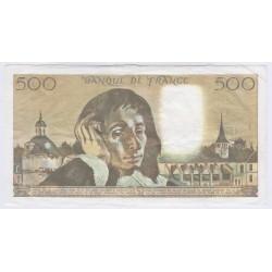 BILLET FRANCE 500 FRANCS PASCAL 2-3-1989 P/NEUF L'ART DES GENTS AVIGNON