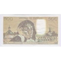 BILLET FRANCE 500 FRANCS PASCAL