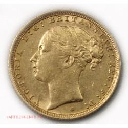 Souverain, Souvereign Victoria 1887 S Australie, lartdesgents.fr