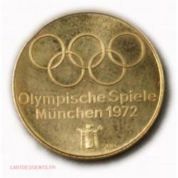 Allemagne: Médaille or Jeux Olympische Spielle München 1972