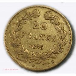 Louis Philippe Ier, 20 Francs 1835 B Rouen, lartdesgents.fr