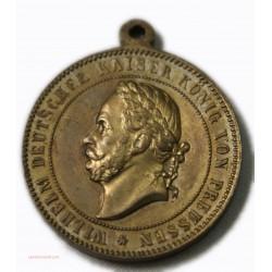 Médaille WILHEIM KAISER VON PREUSSEN / MANOVER 1886