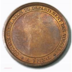 Médaille Sté D'émullation du département des VOSGES - A EPINAL - par BRENET