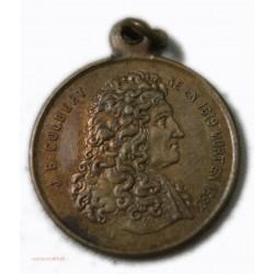Médaille Colbert création de la Manufacture royale des Gobelins en 1667