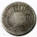 LOUIS XV, 1/2 ÉCU AUX BRANCHES D'OLIVIER, 1726 B ROUEN