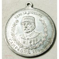 Médaille vers la Victoire Campagne 1914-1915 Joffre cette Mascotte