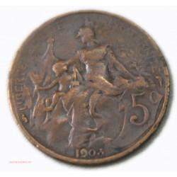 France 5 centimes 1903 Dupuis, lartdesgents Avignon