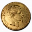 Napoléon III, 100 Francs or 1858 A, lartdesgents.fr Avignon