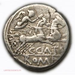 République Romaine - Denier PORCIA 123 AC
