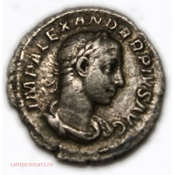 Romaine - Denier Alexandre Sévère 232 ap. JC. RIC. 238, lartdesgents.fr