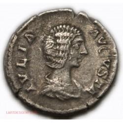 Romaine - Denier JULIA DOMNA 206 Ap. JC. RIC. 551, lartdesgents.fr