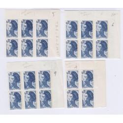 TIMBRES FRANCE VARIETES N°2240a Double Frappe1982 L'ART DES GENTS AVIGNON