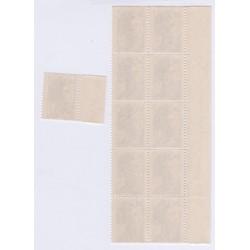TIMBRES FRANCE VARIETES N°2243a Sans bande Phosphorescente 1982 L'ART DES GENT