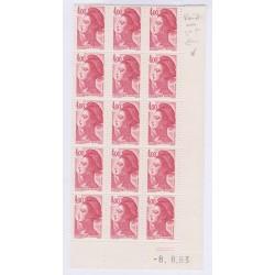 TIMBRES FRANCE VARIETE N°2122 griffe - oreille qui saigne 1981 L'ART DES GENTS