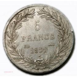 Louis Philippe TIOLIER 5 FRANCS 1831 BB Strasbourg Tr. creux, lartdesgents.fr