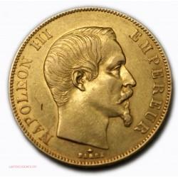 Napoléon III, 50 Francs or 1855 BB STRASBOURG, lartdesgents.fr Avignon