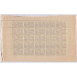 FEUILLE TIMBRES FRANCE  N°607 1944 L'ART DES GENTS PHILATELIE