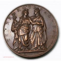 """Médaille """"A L'HEROÏQUE POLOGNE"""" Tu ne mourras pas 1831 par BARRE-FECIT"""