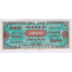 BILLET 1000 FRANCS VERSO FRANCE 1945 TTB+ L'ART DES GENTS NUMISMATIQUE