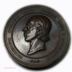 Médaille FREDERICVS OVERBECK par W. SEIDAN F. ROMAE