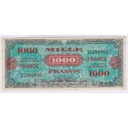 BILLET 1000 FRANCS VERSO FRANCE série 1944 SUP L'ART DES GENTS NUMISMATIQUE