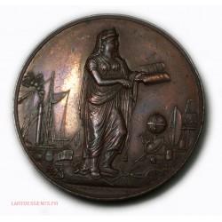 Médaille Congrès scientifique de France Marseille 1846 par ROUX. INF