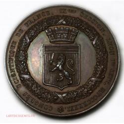 Médaille Congrès scientifique de France LYON 1841 par L. SCHMITT. INV. et F