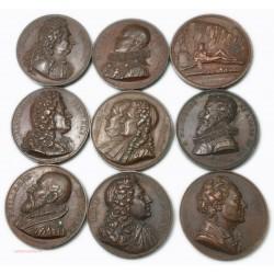 lot de 15 Médailles série des grands Hommes, voir annonce... lartdesgents.fr