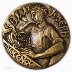 Médaille SAINT JOSEPH Aidez Nous, lartdesgents.fr
