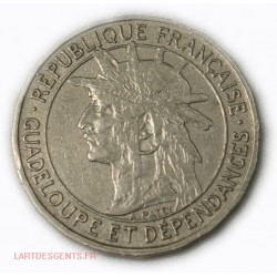 Guadeloupe - Bon pour 1 Franc 1921 - lartdesgents.fr