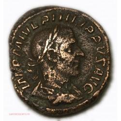 ROMAINE - Sesterce Philippe l'Arabe 244 AP JC RIC.191 TB+