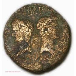 ROMAINE - Dupondius ou As de Nîmes 10 Av JC.  TB