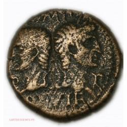 ROMAINE - Dupondius ou As de Nîmes 10-14 Av JC. TB+ 4ème groupe