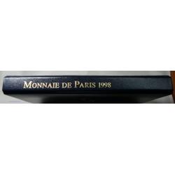 Rare coffret complet 10 Francs argent Coupe du Monde 1997