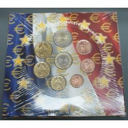 Coffrets complets EURO FRANCE BU  2002 et 2003 sous blister, lartdesgents.fr