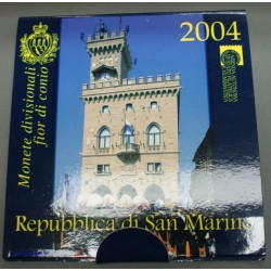 Coffret complet EURO SAN MARIN BU  2004 et 2005, lartdesgents.fr