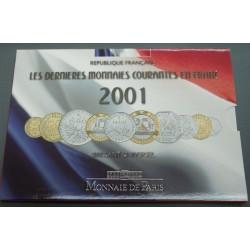 Coffrets complets FRANCS FRANCE BU  2001 et 2000, lartdesgents.fr