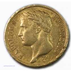 Napoléon Ier Empereur, 40 Francs 1812 A Paris, lartdesgents.fr