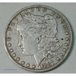 USA - Morgan $ 1 dollar 1887 O, lartdesgents.fr