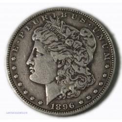 USA - Morgan $ 1 dollar 1896, lartdesgents.fr