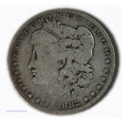USA - Morgan $ 1 dollar 1882 O , lartdesgents.fr