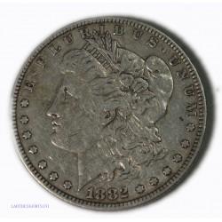 USA - Morgan $ 1 dollar 1882 , lartdesgents.fr