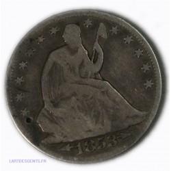 USA - half dollar 1853 , lartdesgents.fr