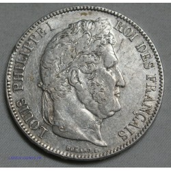 Louis Philippe Ier 5 FRANCS 1834 A Paris, lartdesgents.fr