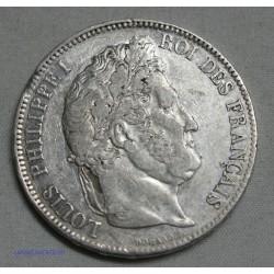 Louis Philippe Ier 5 FRANCS 1833 T , lartdesgents.fr