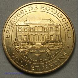 Jeton Médaille touristique EPHRUSSI DE ROTHSCHILD - 1998 Villa et Jardins