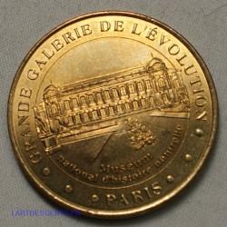 Jeton Médaille touristique Grande Galerie de l'évolution Paris 2002